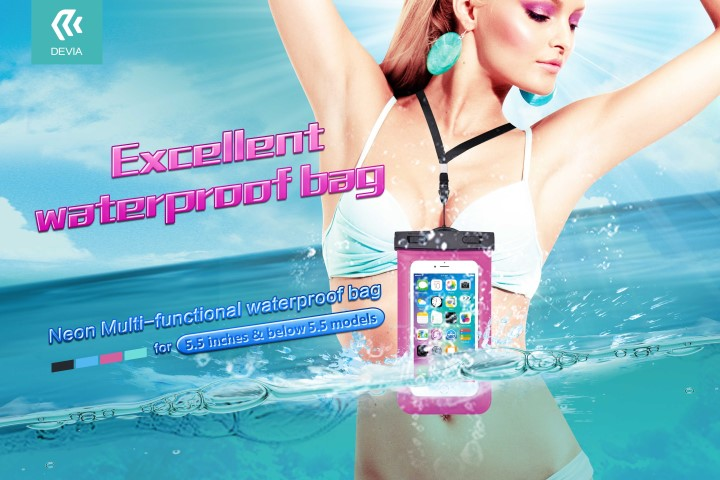 DEVIA neon multi-functional waterproof bag poster1 (Small)